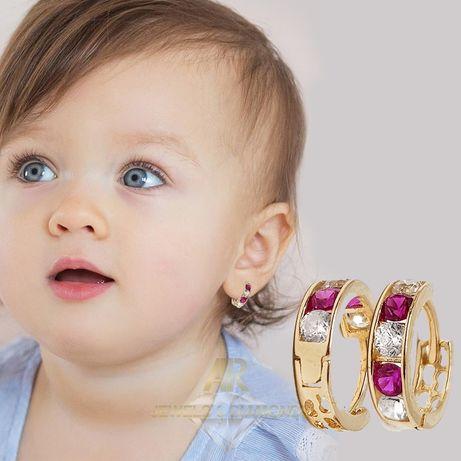 Cercei Aur 14 K Baby modele deosebite ARJEWELS