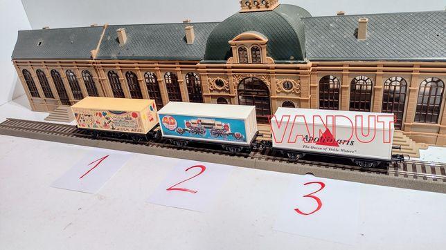 Machete vagoane container trenuleț Marklin , Roco HO