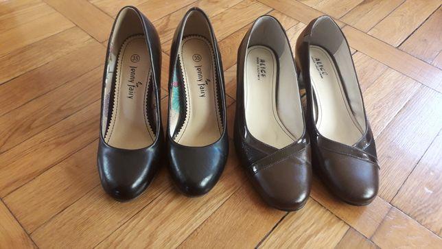 Pantofi nr 35 si nr 39 din piele și  cizme nr 37 și  38