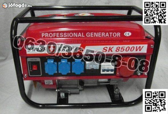 Generator swiss kraft 6.5hp 8500w model 2019