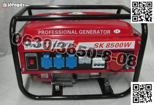 Generator swiss kraft 6.5hp 8500w model 2019