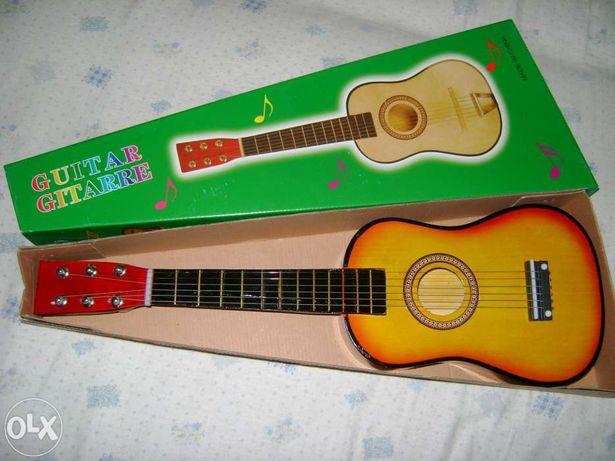 Chitara mica acustica pentru copii-PRODUS NOU