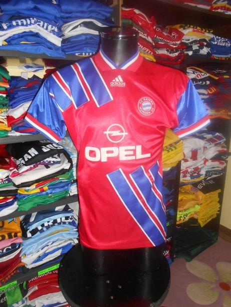 tricou fotbal bayern munchen adidas 1993 1995 opel retro vintage