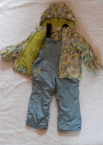 Продам осенний костюм на девочку 1,5-3 года