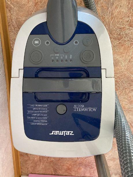 Пылесос ZELMER моющий, сухая уборка, аквафильтр