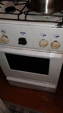 Плита газовая 4 конфорочная с духовкой