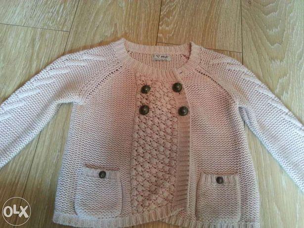 Flanel pulover gros fetițe Next 3-4 ani