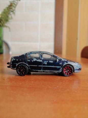205E Peugeot 407 albastru inchis de colectie editie limitata valabil
