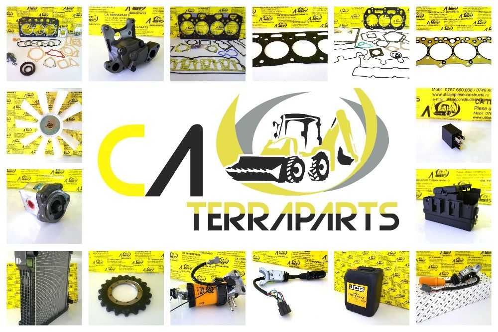 JCB 3cx, 4cx, mini excavator, perkins, isuzu, cummins Vaslui - imagine 1