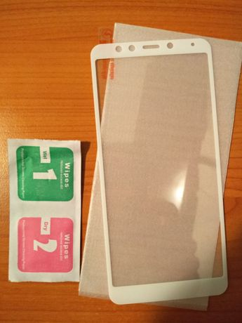 Folie sticla Xiaomi Redmi 5 alba