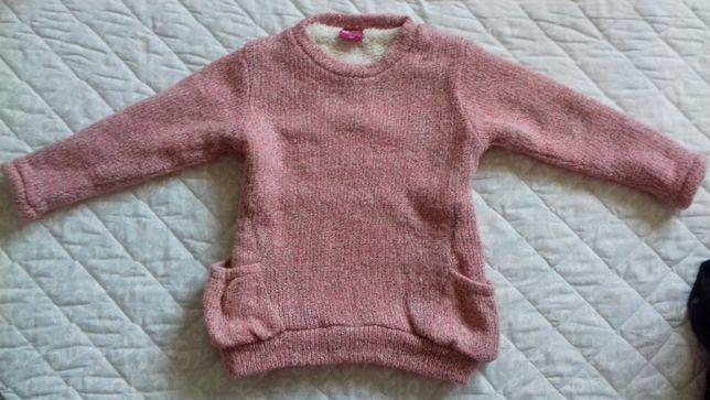 Bluza imblanita pentru fetite, marimea 104