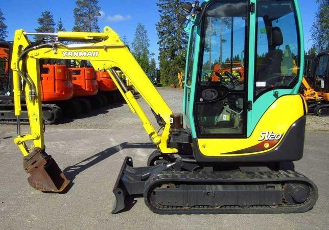 Inchiriez Mini Excavator 2 tone si 2,5 tone
