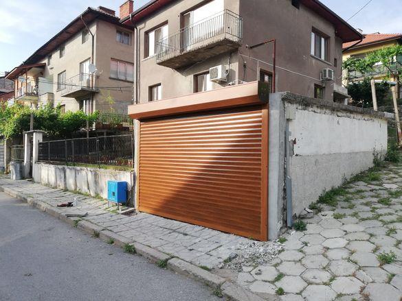 Алуминиеви гаражни врати