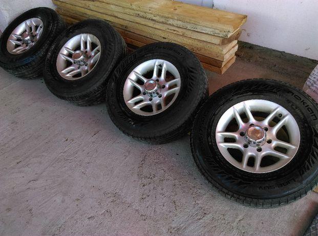 Set roti jenti al anveloape 235/75/15 SUV Nissan Terrano, Pajero, etc