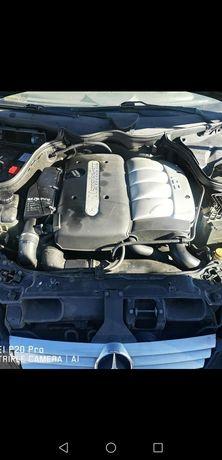 Двигател, помпа и дюзи, турбо, скоростна кутия 6ск. Мерцедес Ц220 ЦДИ
