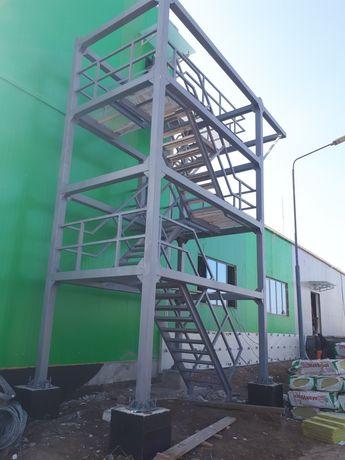 Изготавливаем лестницы любой сложности,фермы,решотки,козырьки,