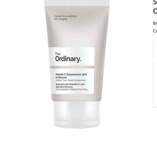 Vitamina C 30% in Silicon, 30ml, The Ordinary