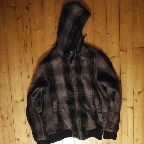 Запазено спортно мъжко яке тип суичър с качулка - H&M размер М