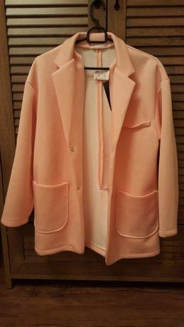 Бебешко розово пролетно палтенце