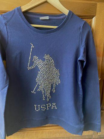 Bluza+sacou Polo Ralph Lauren si tricou Tommy Hilfinger originale