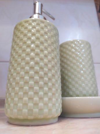 Набор для ванны Аксессуары в ванную Керамика набор в ванную