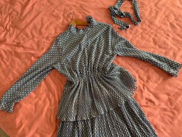 Платье миди, 46 размер