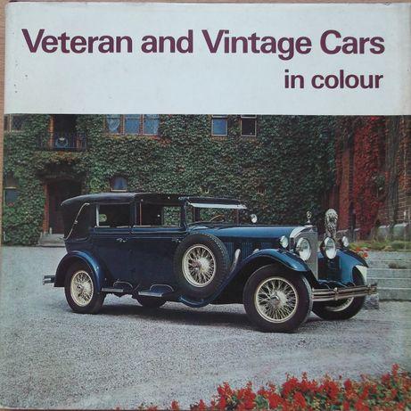 Книга литература стари автомобили от 30-те години Veteran and Vintage