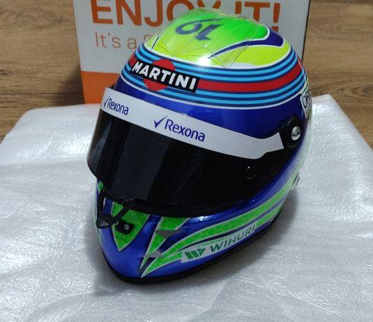 Macheta casca formula 1 Felipe Massa, scara 1/2