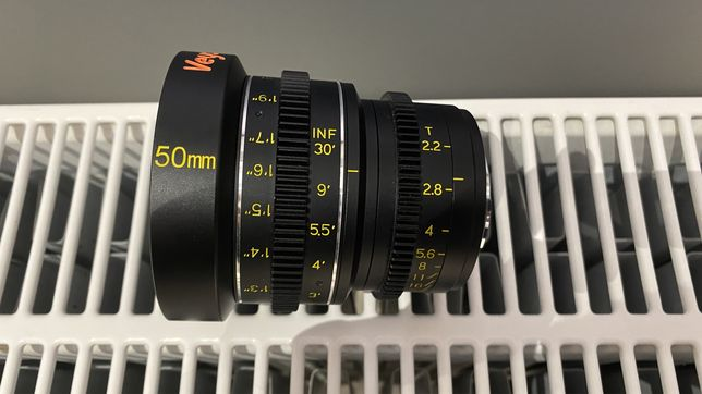 Veydra Mini Prime 50mm, T2.2, mft