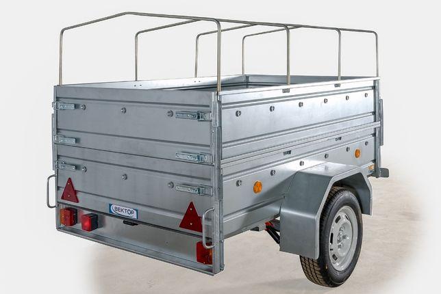 Продается легковой Прицеп ЛАВ 81011, размер кузова 1850 на 1100 мм
