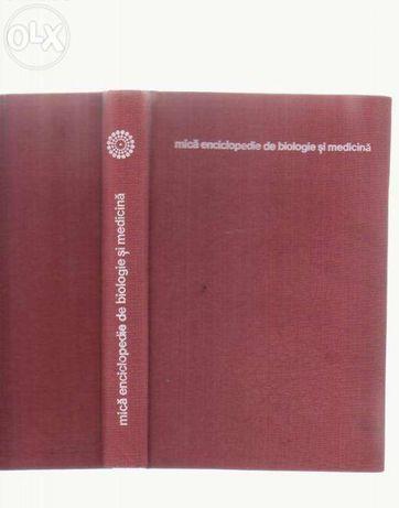 Carte mica enciclopedie de biologie si medicina