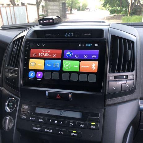 Автомагнитола Mac Audio для Toyota Land Cruiser 200 android