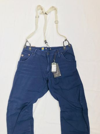 G-Star Raw Arc 3D Loose Tapered Braces Mens Jeans