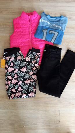 Елек, дънки, спортно долнище, блуза 158/164см