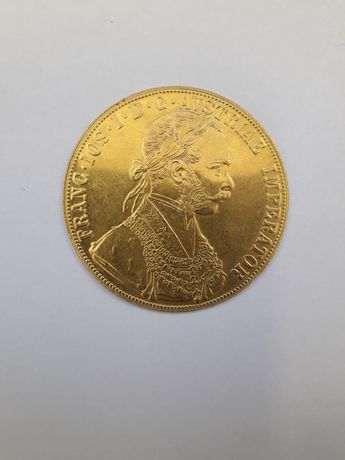 Moneda din aur 4 ducati Franz Joseph
