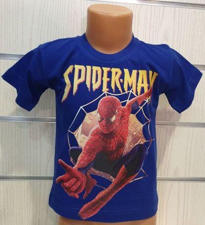 Нова детска тениска с щампа Спайдърмен, Spiderman