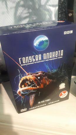 """""""Голубая планета"""" док.фильм BBC Подарочное издание на 4 dvd дисках"""