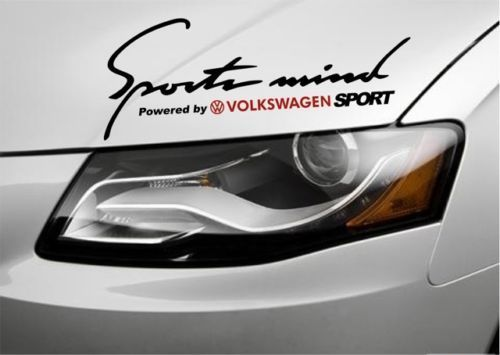 стикер sports mind volkswagen, seat, skoda