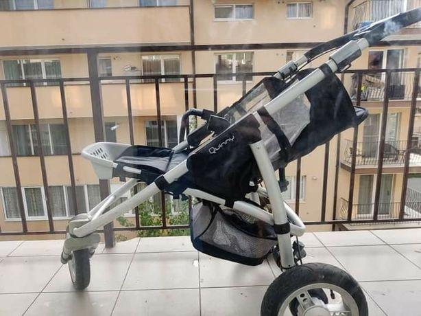 cărucior krausman topaz lux folosit de cîteva ori cadrul de alumin