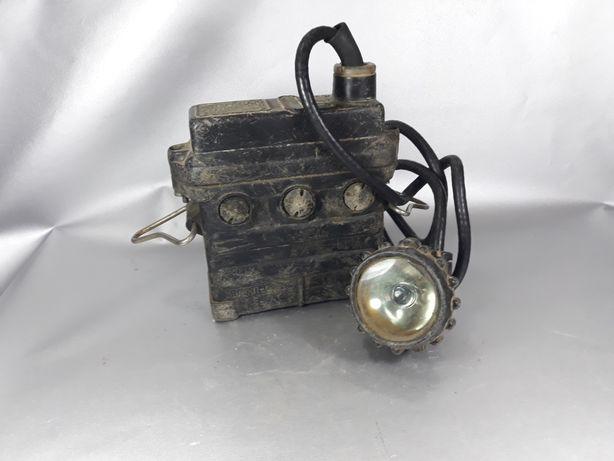 Lampă miner de colecție original Veche machetă