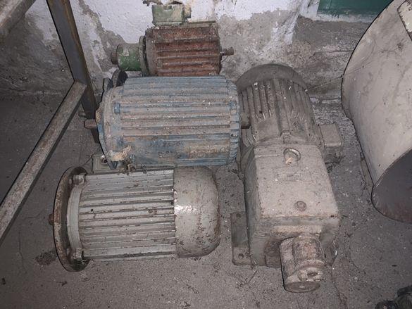 Различни електрически двигатели мотори