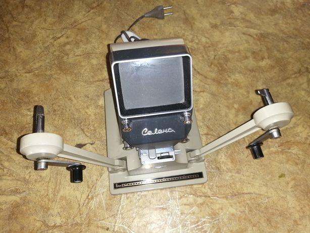 Монтажный столик для 8 мм кинопленки.