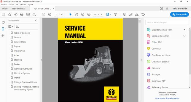 New Holland Agro and Constr Service Manual 2020