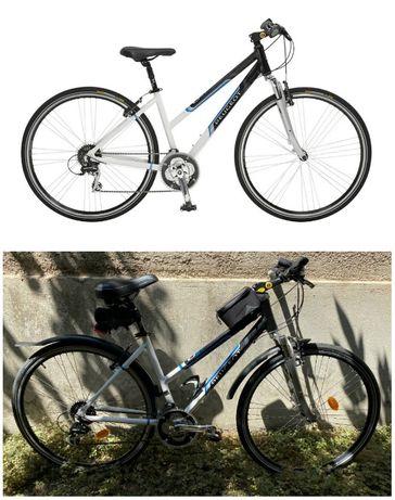 "Bicicleta PEUGEOT CT-51 28"" cadru furca ghidon aluminiu oras treking"