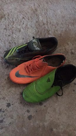 Crampoane 37,adidasi fotbal 38-39,echipament portar,12-14 ani