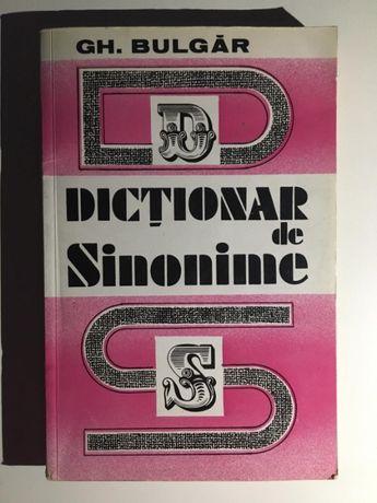 Dictionar de sinonime, de Gh. Bulgar