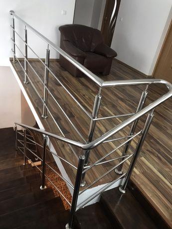 Confectionam balustrade inox, fier forjat, copertine inox
