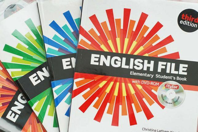 Учебники иностранных языков English File, Headway и многие другие.