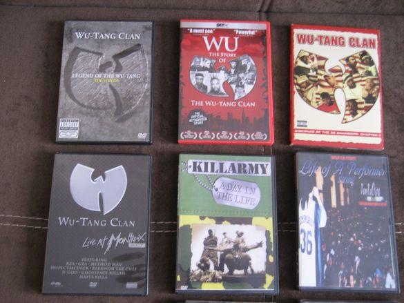 DVD ДВД дискове на английски филми хип хоп killarmy wu tang