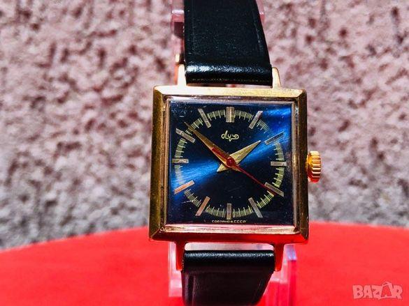 Ръчен мъжки руски часовник Poljot de luxe-Луч кал.2209
